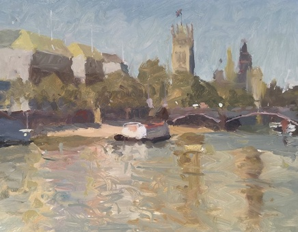 Adam Ralston MAFA, Lambeth Bridge and Westminster, 2018